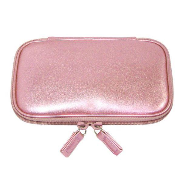 ショートブラシ用 ピンク・携帯ブラシケース(花咲オリジナル)